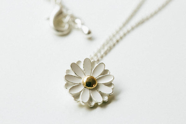 Flower  Daisy NECKLACE-YT