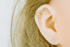14K Solid Gold Jewelry Cz Round Tragus Cartilage Snug Rook Daith Helix Lip Nose Ear Segment Clicker Hoop cubic Ring Heart Piercing Earring