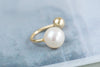 14k Gold  pearl ball Piercing-L