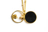 Fashion Necklace Delicate Jewelry Round Space Pendant Chain Necklace
