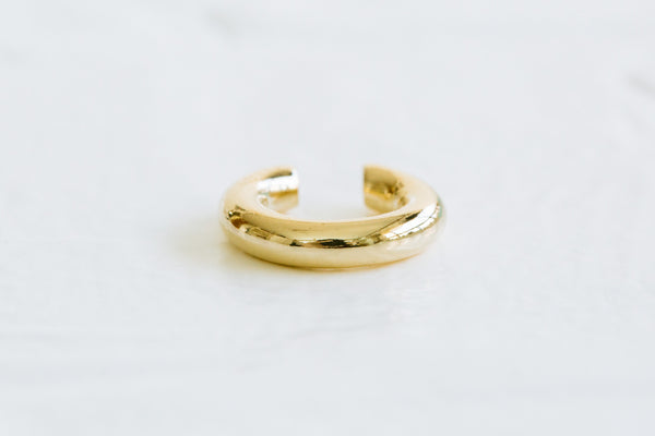 Bold Round Open Ring Non Pierced Ear Cuff Earring