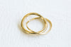 Cool Bohemian Round Stackable Two Ring For Women Teens Girls