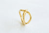 Matt Color Bohemian Open Round Adjustable Ring For Women Teens Girls