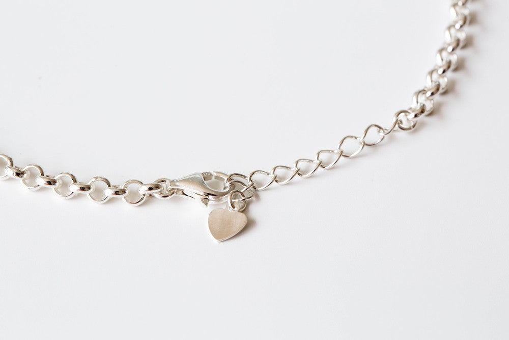 925 unique anklet-Cx