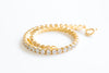 925 Sterling Silver Cubic Zirconia Classic Tennis Bracelet For Women