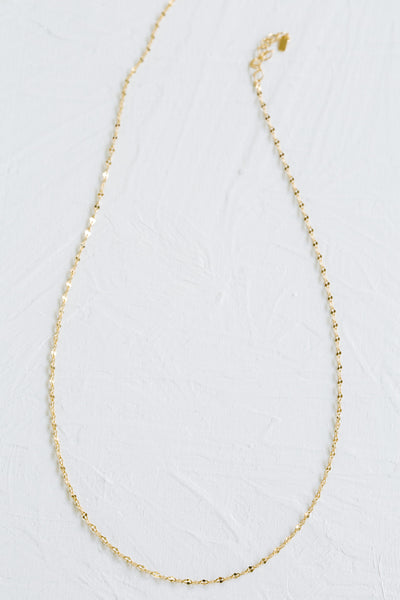 925 Sterling Silver Bridesmaid Gift Link Chain Necklace