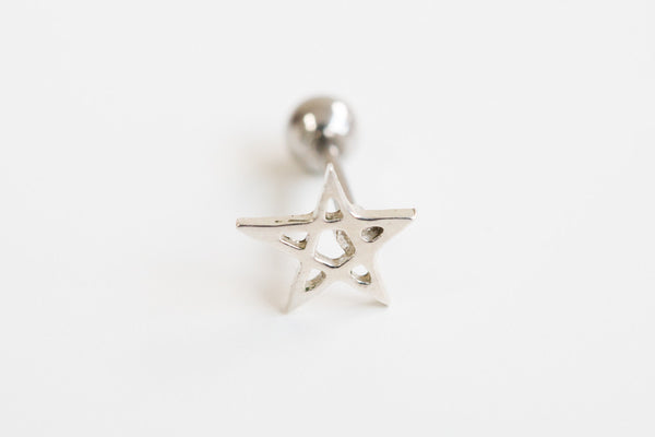 925 star piercing-Daf