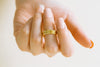 Bohemian Matt Color Wave Round Delicate Ring For Women Teens Girls