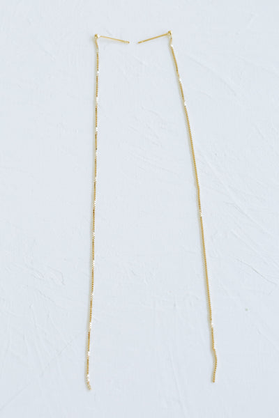 leaf arrow necklace