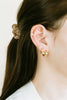 14K Gold Cartilage Helix Inner Conch Stud Post Hoop Ear Piercing