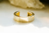 14K Gold Simple Thick Band Non Pierced Ear Cuff Earring