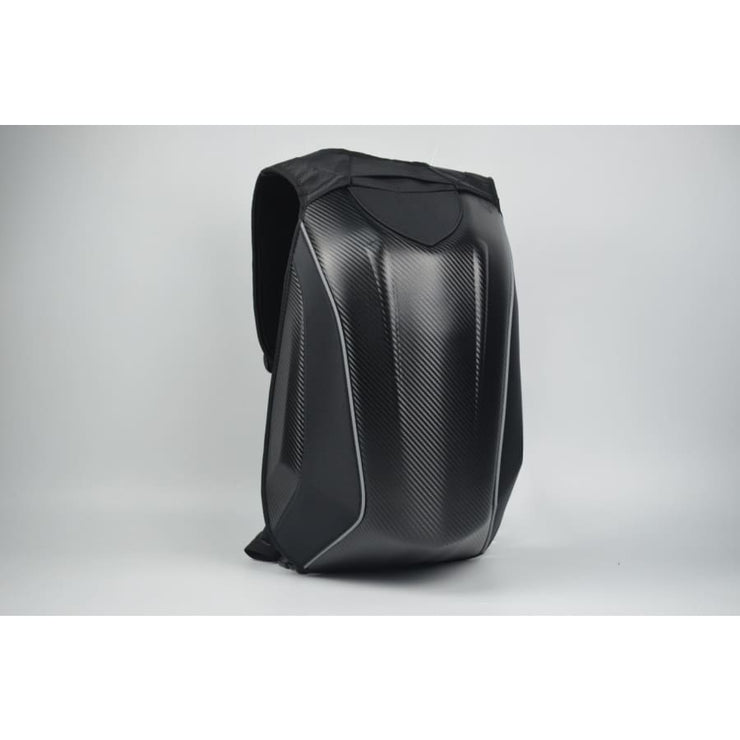 30L Motorcycle Carbon Fiber Waterproof Hard Shell Backpack