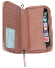 Women's Silverlake Zip Around Phone Wallets Montecito Multi Leather