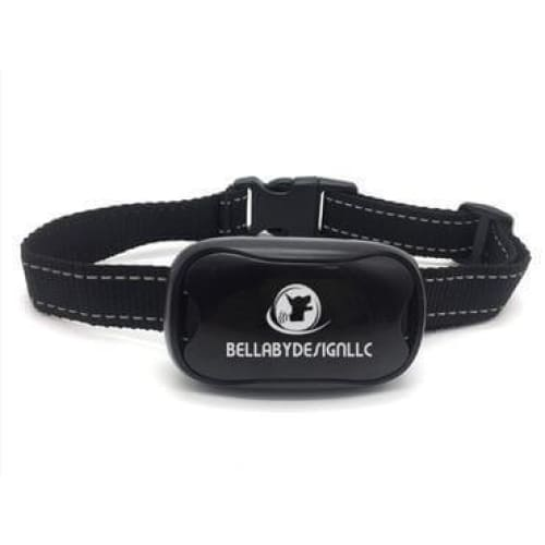 Anti barking collar No SHOCK collar BLACK + EXTRA BATTERY - Dog Training Collar No Shock