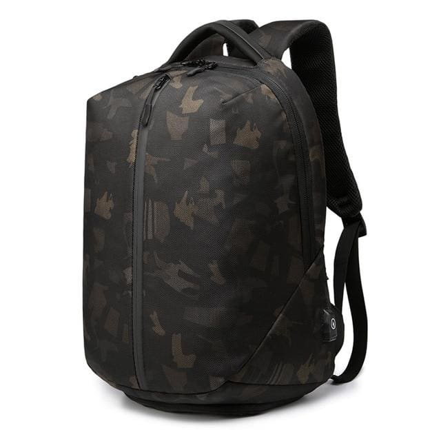 Anti Theft Laptop Backpack 15.6 Waterproof Backpacks - Camouflage / 16Inch (31x24x45cm) - Backpacp_Oct