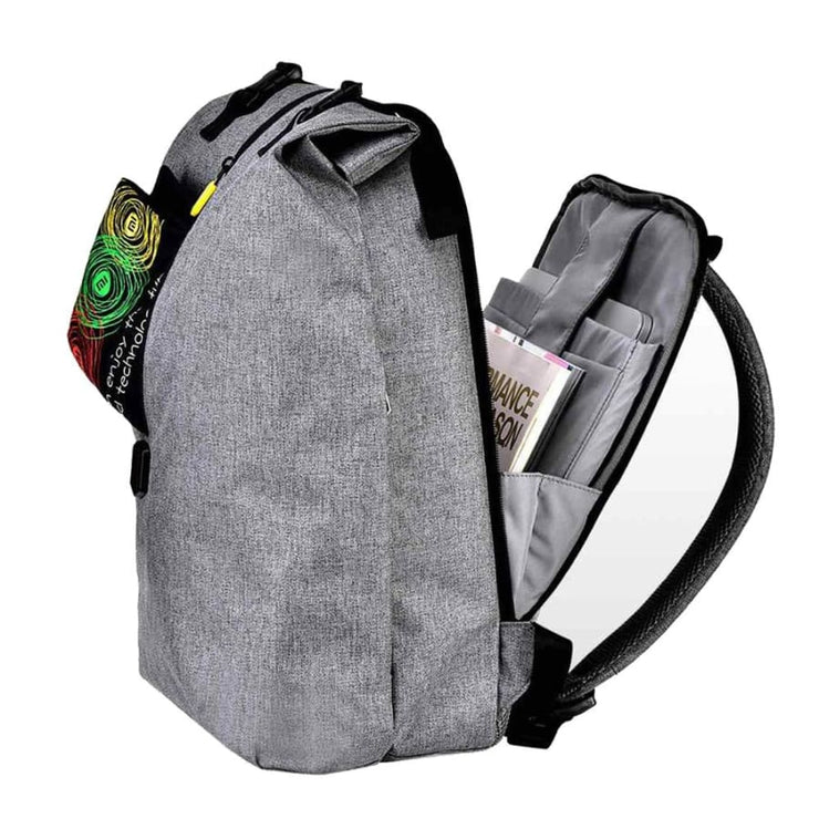 Backpack 14 inches casual travel laptop rucksack - backpack