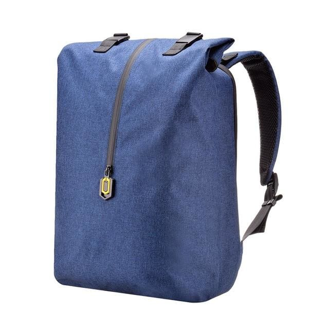 Backpack 14 inches casual travel laptop rucksack - Blue - backpack