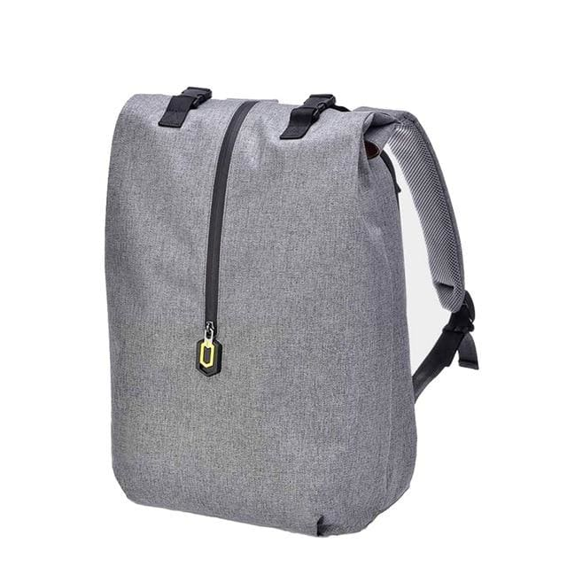 Backpack 14 inches casual travel laptop rucksack - Gray - backpack