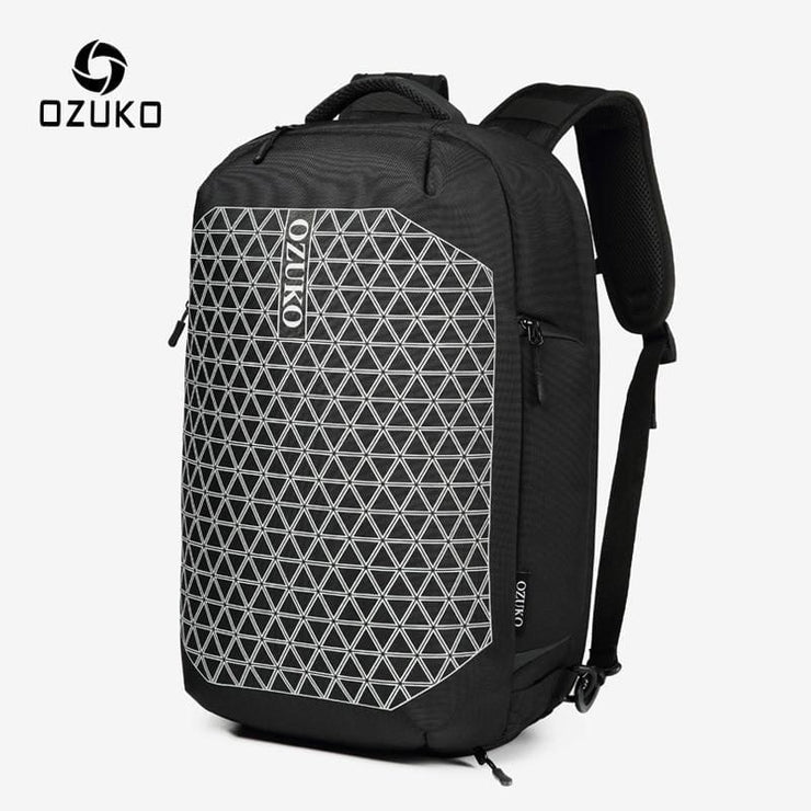 Backpack anti theft men waterproof - Black / 15.6inch(33x18x52CM) - Backpacp_Oct
