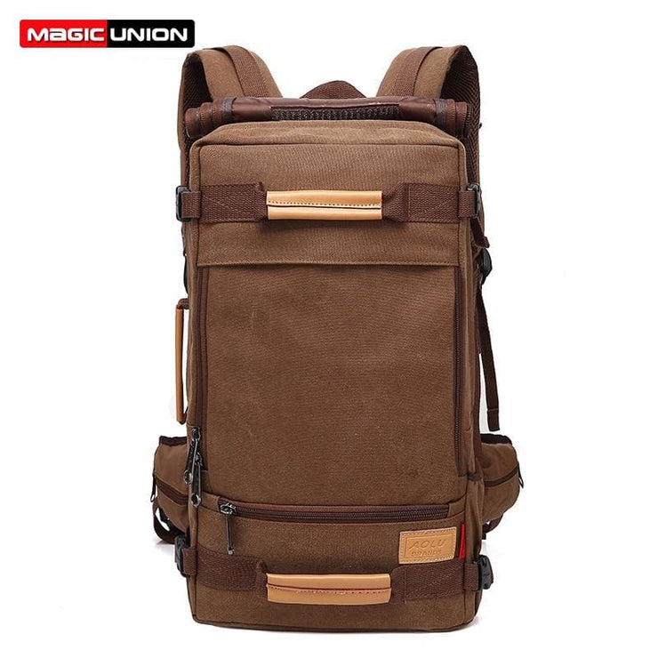 Backpack Canvas Bag Sling - Backpacp_Oct