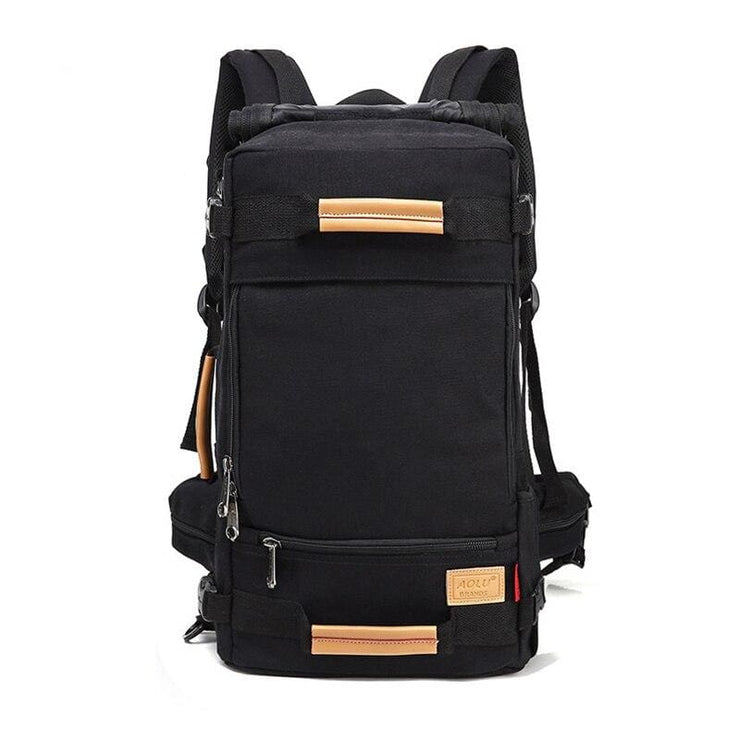 Backpack Canvas Bag Sling - Black / 20 inch - Backpacp_Oct