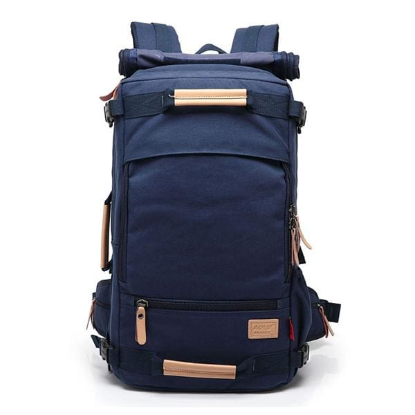Backpack Canvas Bag Sling - Blue / 20 inch - Backpacp_Oct