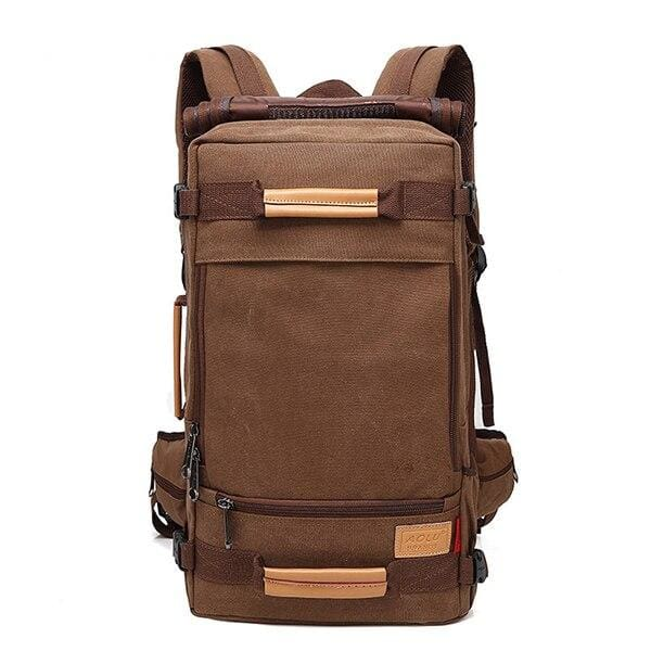 Backpack Canvas Bag Sling - Coffee / 22 inch - Backpacp_Oct