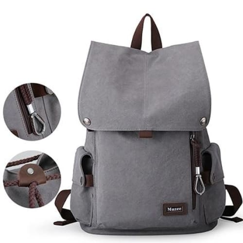 Backpack high capacity travel bag 15.6 inch Laptop - New Gray / 15 Inches - backpack