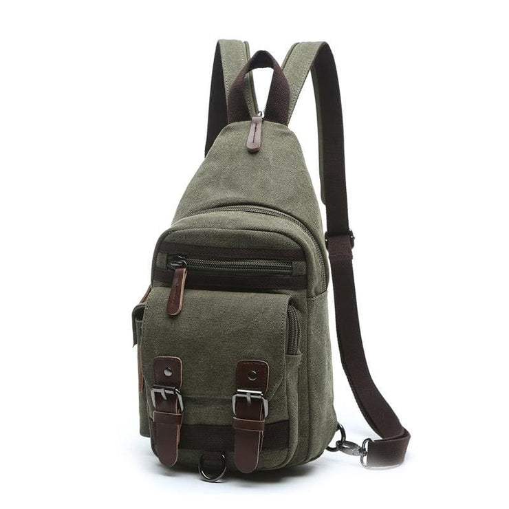 Backpack Shoulder Bags Multifunction Small Bag - Army Green - Backpacp_Oct
