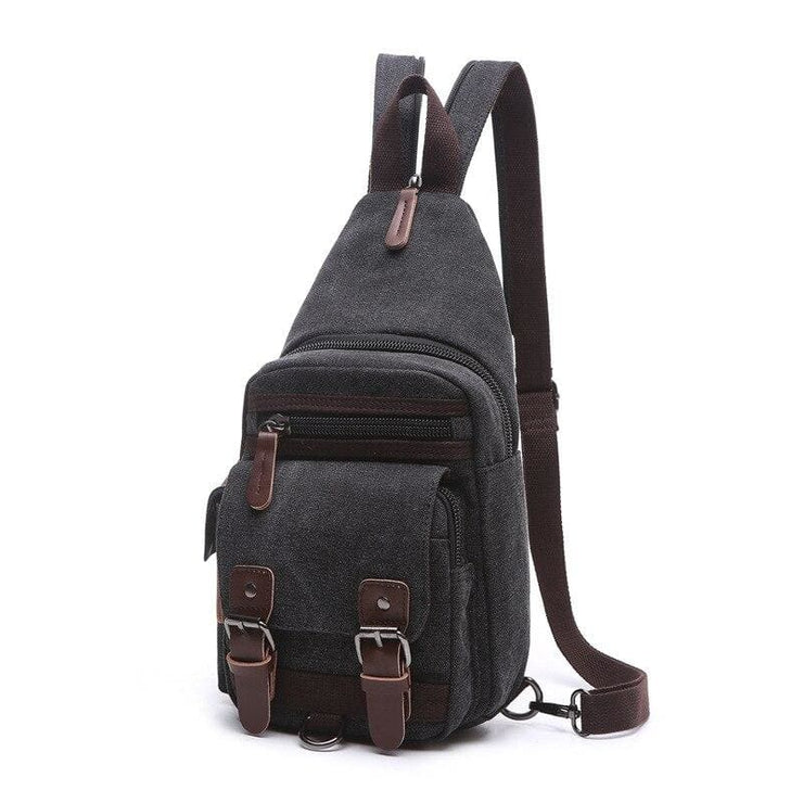 Backpack Shoulder Bags Multifunction Small Bag - Black - Backpacp_Oct