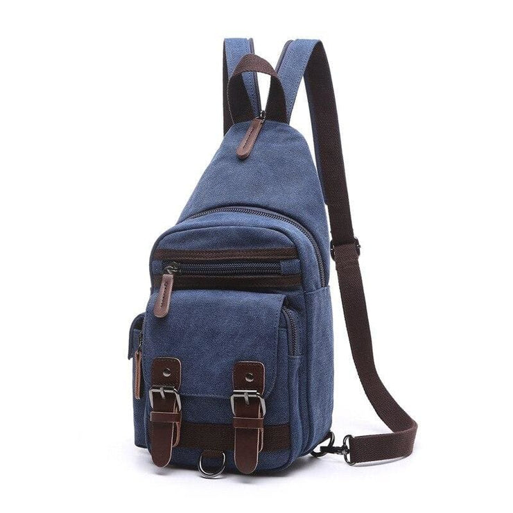 Backpack Shoulder Bags Multifunction Small Bag - Blue - Backpacp_Oct