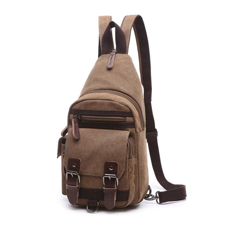 Backpack Shoulder Bags Multifunction Small Bag - Brown - Backpacp_Oct