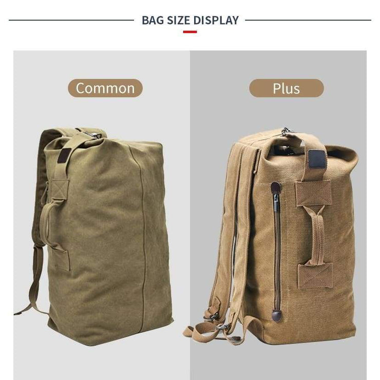 Bucket Shoulder Military Army Bags - Backpacp_Oct