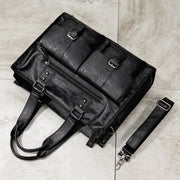 Business men shoulder bags large capacity black - Men_Briefcase