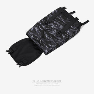 Camouflage backpack street hip hop style - backpack