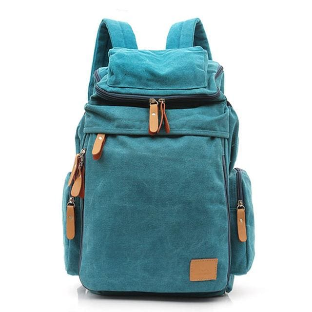 Casual mens backpack - Blue - Backpacp_Oct