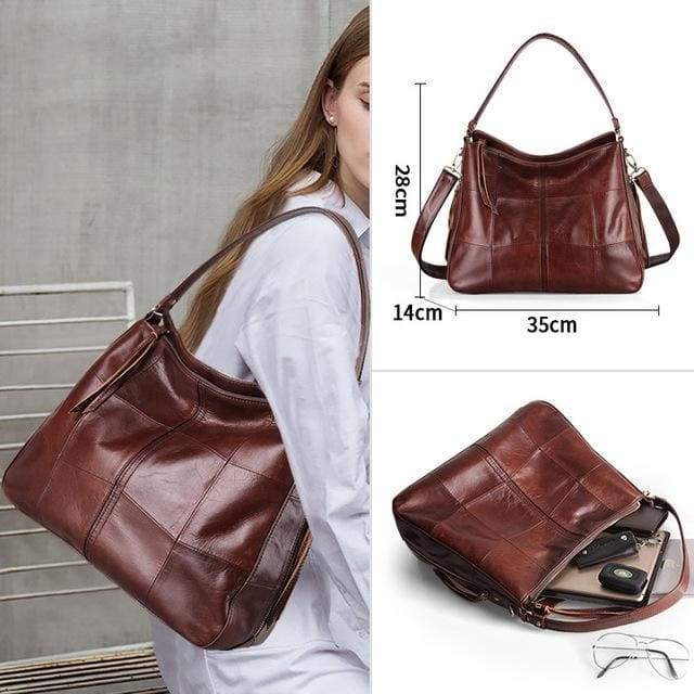 Cobbler Legend Women Bag - Leather coffee 1 / CHINA