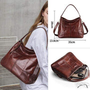 Cobbler Legend Women Bag - Leather coffee / CHINA