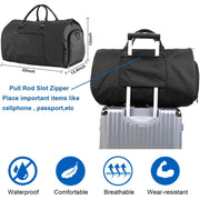 Convertible Travel Garment Bag - Men_Briefcase