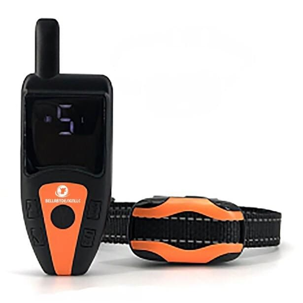 Dog Training Collar with remote Shock or No Shock color ORANGE - Remote Control Dog Training Collar