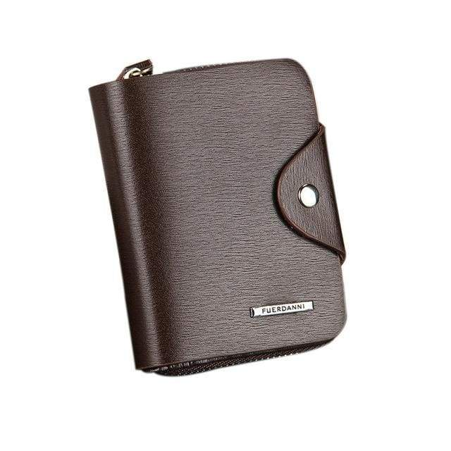 Fashion Men Wallets PU Leather ID Card Holder - Wallets