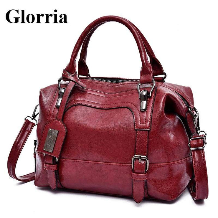 Glorria Handbag Women Boston Messenger Shoulder Bag
