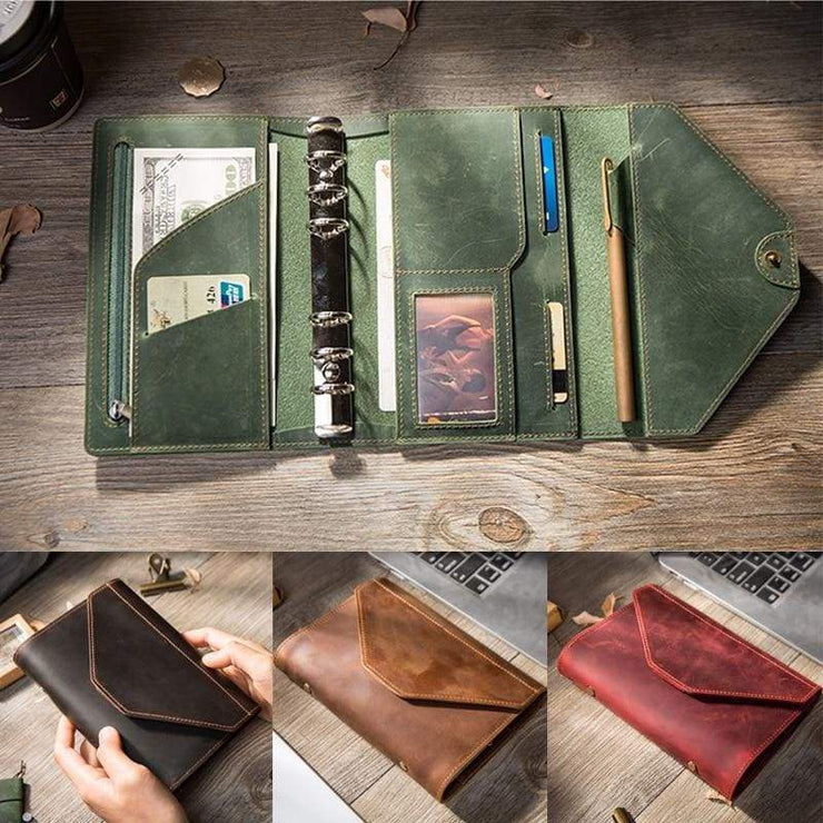 Handmade creative bullet journal planner - wallet