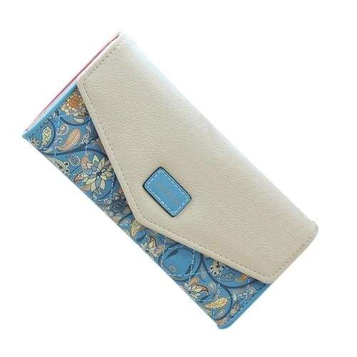 Lady Women Wallets pu Leather Clutch - 2 - Wallets