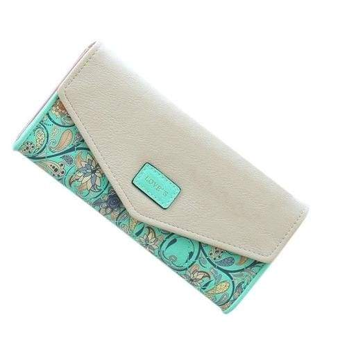 Lady Women Wallets pu Leather Clutch - 3 - Wallets