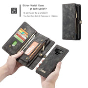 Leather fundas wallet case - wallet