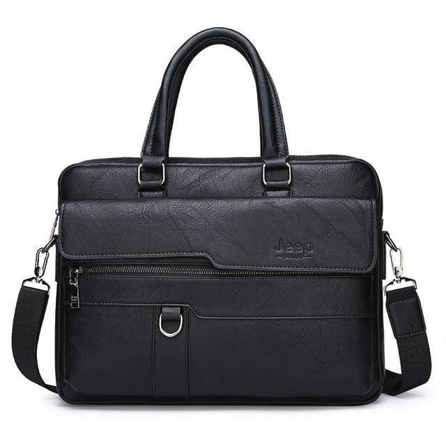 Men briefcase bag - 8301-3 Black - Backpacp_Oct