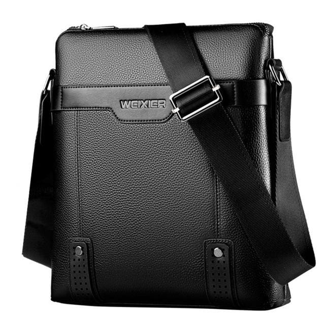 Men messenger bag crossbody - Black - Backpacp_Oct