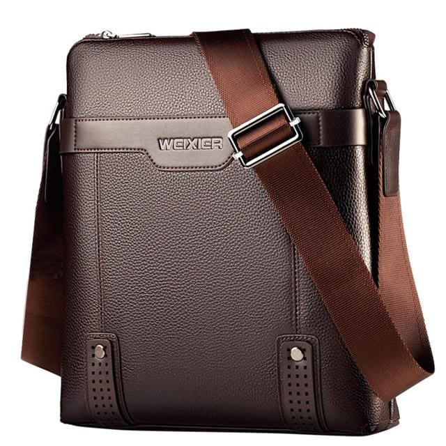 Men messenger bag crossbody - Brown - Backpacp_Oct