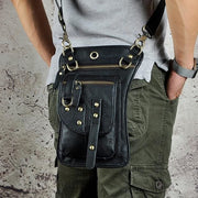 Men travel shoulder crossbody messenger bag - Black - Men_Briefcase